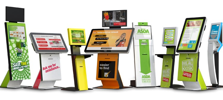 interactive information kiosk display solution